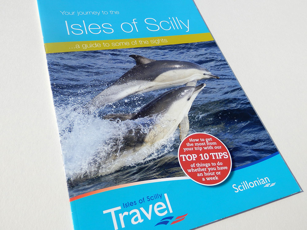 Brochure Design - Isles of Scilly Travel
