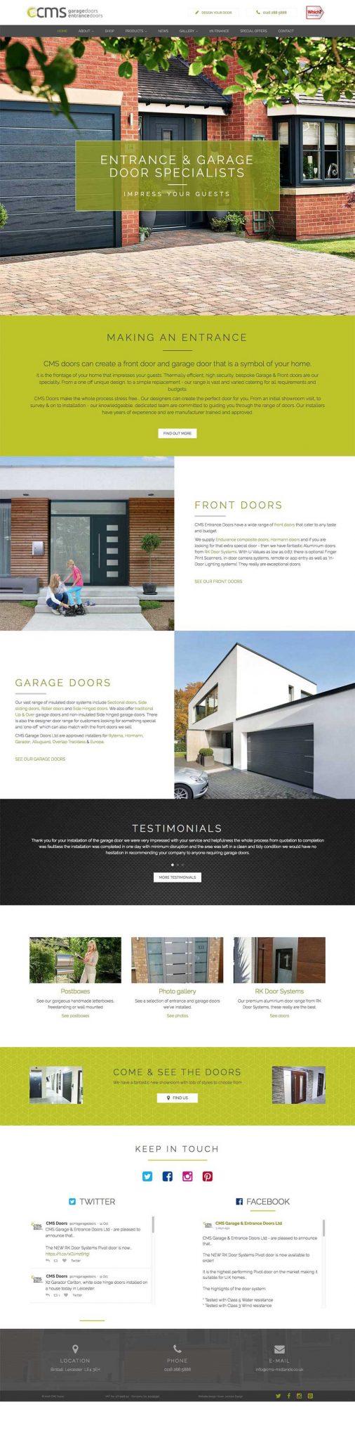 cmsdoors.co.uk-website