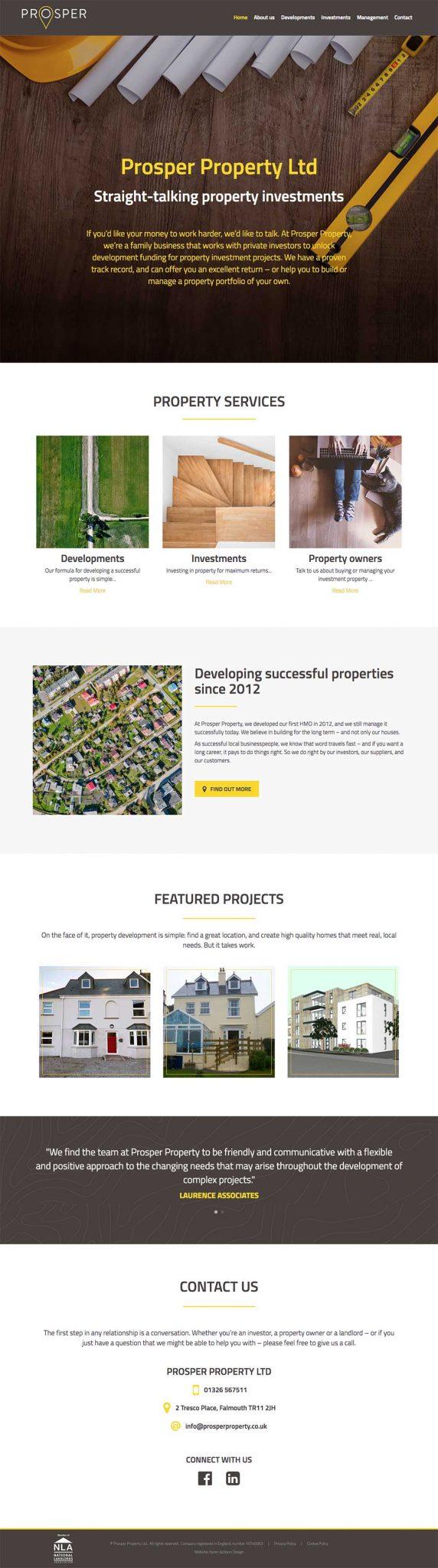 prosper-property-website-design